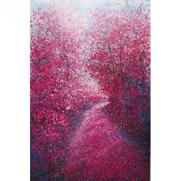 The-Season-of-Love—LOST-WAY-IN-PINK,-Narate-Kathong,-100-x-150-cm-[USD-5,000]